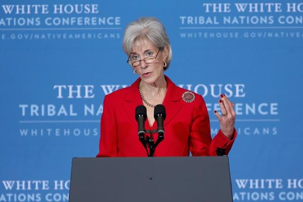 Health and Human Services Secretary Kathleen Sebelius, whose department is responsible for the controversial requirement that insurers provide contraceptive coverage for women at no charge.