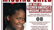 Khaniya Roberts 2011 Missing Child Poster