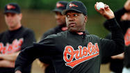 Who was the oldest player to wear an Orioles' uniform?