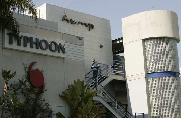 The now-closed Hump restaurant has been accused of selling whale meat sushi.