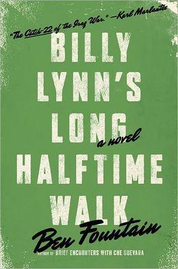 "A finalist for the 2012 National Book Award, Ben Fountain's novel ""Billy Lynn's Long Halftime Walk"" puts a group of American soldiers from the Iraq war at a Dallas Cowboys game. ""The men of Bravo are not cold,"" it begins. ""It's a chilly and windwhipped Thanksgiving Day with sleet and freezing rain forecast for late afternoon, but Bravo is nicely blazed on Jack and Cokes thanks to the epic crawl of game-day traffic and the limo's minibar."""