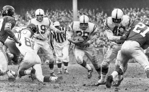 Sun archives: Baltimore Colts photos - Alan Ameche
