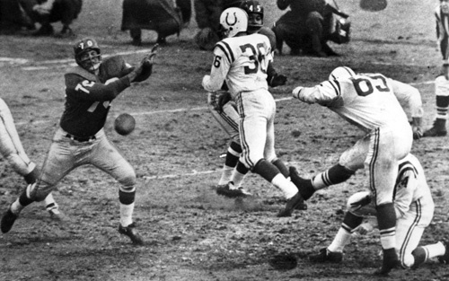 Sun archives: Baltimore Colts photos - Blocked field goal