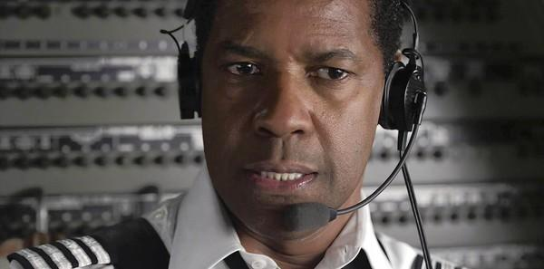 "Denzel Washington is Whip Whitaker in ""Flight."""