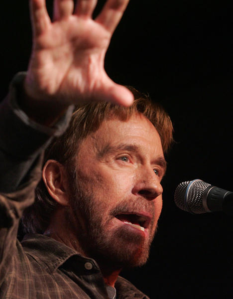 "<a class=""taxInlineTagLink"" id=""PECLB003314"" title=""Chuck Norris"" href=""/topic/entertainment/chuck-norris-PECLB003314.topic"">Chuck Norris</a> is 72 today."