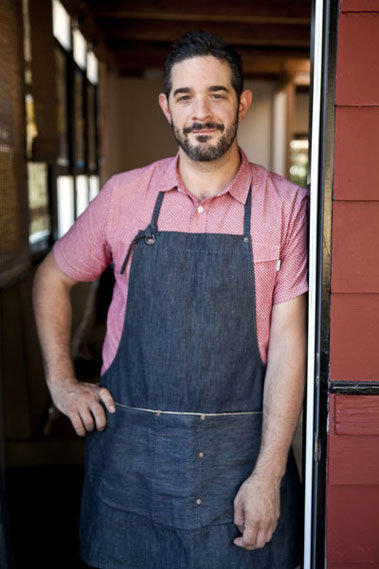Jeremy Fox is chef at Rustic Canyon in Santa Monica.