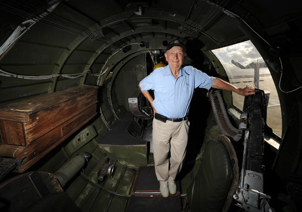 John Katsaros was falling out of the sky. So he ditched his B-17 and parachuted 500 feet into German hands. (French fighters killed his guards and took him in their ranks to safety.) Now the World War II veteran is showing off a B-17 at an annual exhibit of bombers at the Boca Raton airport. The Wings of Freedom Tour featuring a B-17, B-24 and P-51 aircraft will be at the Boca Raton Airport