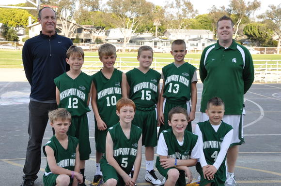 The Newport-Mesa Spartans are 9-0 in the boys' third- and fourth-grade division.