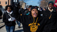 Marching for Hadiya Pendleton