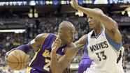 Lakers at Minnesota Timberwolves