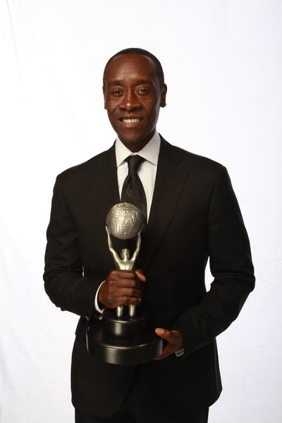 Don Cheadle at the Los Angeles Times photo booth.