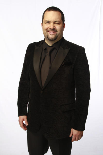 Benjamin Jealous, president and chief executive of the NAACP, at the Los Angeles Times photo booth.