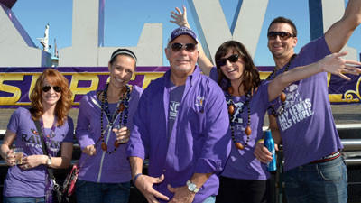 Ravens fans outnumber 49ers supporters in New Orleans