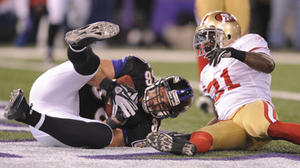 As in their previous meeting, Dennis Pitta could be the difference vs. 49ers