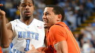 CHAPEL HILL, N.C. — From tradition to talent to depth, there's no comparing the basketball programs at Virginia Tech and North Carolina. But for two-plus hours Saturday afternoon, the Hokies and Tar Heels looked as similar as John and Jim Harbaugh.
