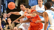 PICTURES: North Carolina 72, Virginia Tech 60