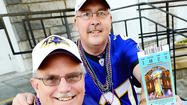 Friends since their youth and diehard Baltimore Ravens fans, Donnie Stotelmyer and Mark Crilly were elated to get tickets to Super Bowl XLVII in New Orleans.
