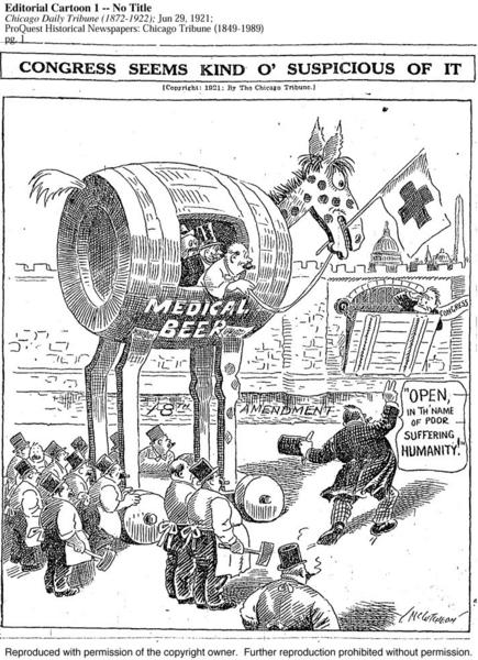 John McCutcheon's delightful cartoon from June 29, 1921, sparked this Flashback.