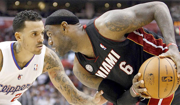 LeBron James, Matt Barnes