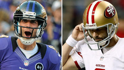 Kickers Tucker, Akers enter Super Bowl from different paths