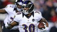 NEW ORLEANS — Ten games into the season, Ravens rookie running back Bernard Pierce was struggling to find his way into the game plan. He had fewer than five carries in a game eight times and he didn't touch the ball in an Oct. 21 loss to the Houston Texans.