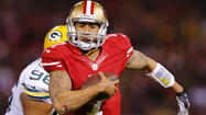 NEW ORLEANS — The elusive presence of San Francisco 49ers quarterback Colin Kaepernick could become a unique challenge for the Ravens' defense Sunday night.