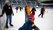 Soldier Field ice rink