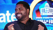 VIDEO Ravens' Jonathan Ogden on making the Hall of Fame