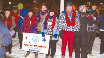 Somerset County was included in opening ceremonies of last year's Pennsylvania's Special Olympics.