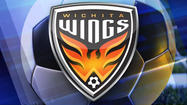 "<span style=""font-size: small;"">Andrew Hoxie's hat trick against his former side helped propel the Wichita Wings to a 14-11 victory on Friday night.</span>"