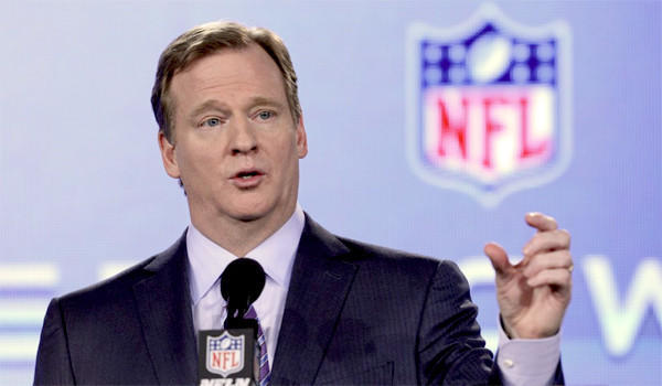 Roger Goodell addresses the media Friday in his annual pre-Super Bowl address.