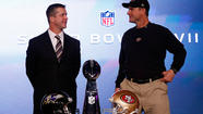 Everybody joked that Super Bowl XLVII on Sunday should be known as the Bros Bowl, the Harbowl, the Super Bros Bowl and the Super Baugh (yes, you have to think about the pronunciation a bit on the last one) in recognition of the San Francisco 49ers' Jim Harbaugh and the Baltimore Ravens' John Harbaugh as the first brothers to meet as coaches in the NFL's championship game.