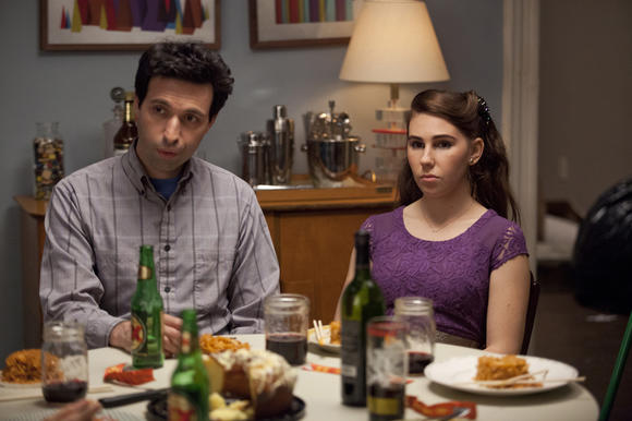 Alex Karpovsky and Zosia Mamet.