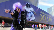 Scenes from Super Bowl Sunday [Pictures]