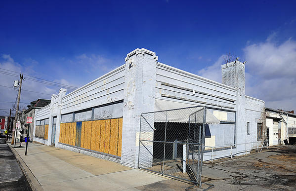 Three buildings on a tract off Baltimore Street in Hagerstown, now owned by Washington County, have fallen into disrepair over the years.