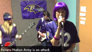 The Ravens' playoff run to New Orleans has inspired some fans in the area to upload videos displaying pride, humor, talent and wackiness — all in support of their favorite team.