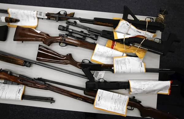 By increasing coordination between the city and county, officials hope to better track guns used in crimes.