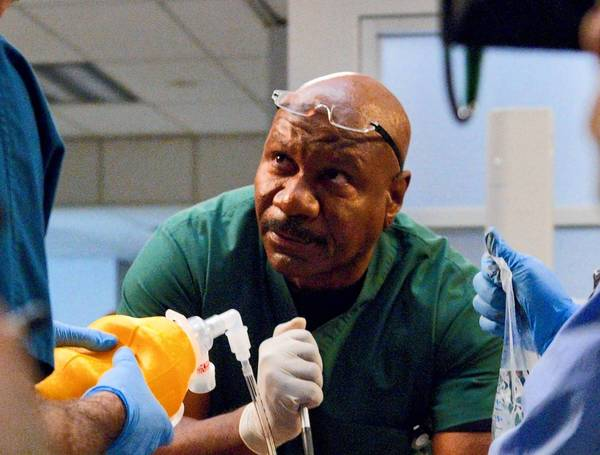 "Ving Rhames as Dr. Jorge Villanueva in ""Monday Mornings,"" a medical drama premiering on TNT."