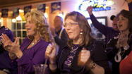 Baltimore Ravens fans celebrate Super Bowl win in Catonsville [Pictures]