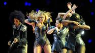 Force, grace define Beyonce's halftime show