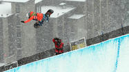 SEVEN SPRINGS — A national snowboarding competition ending Sunday was just the beginning for qualifying athletes moving on to the championships.