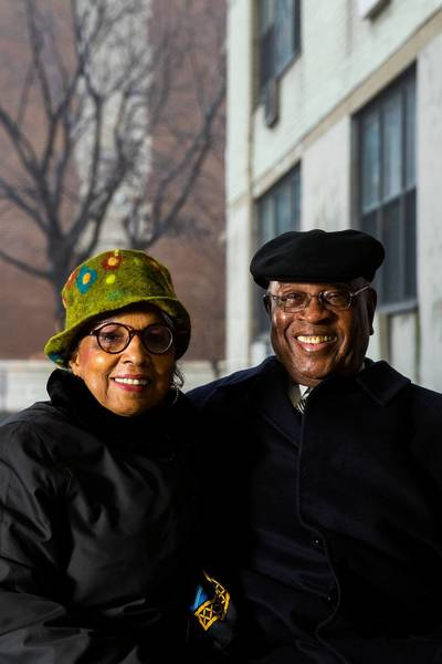 Lester and Nancy McKeever bought the 25-story Oglesby Towers in 1976 and treated tenants like family members, former and present residents say. Now, they're moving out.