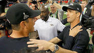 NEW ORLEANS — What happened Sunday on the world's stage has been going on between John and Jim Harbaugh for many moons.