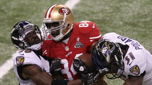 After boasts, Randy Moss proves a bust for San Francisco