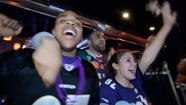 VIDEO Ravens fans react to Super Bowl win at CVP