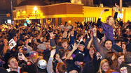 Baltimore fans celebrate a Super Bowl win [Pictures]