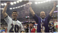 Ellicott City brothers celebrate with Ravens in New Orleans