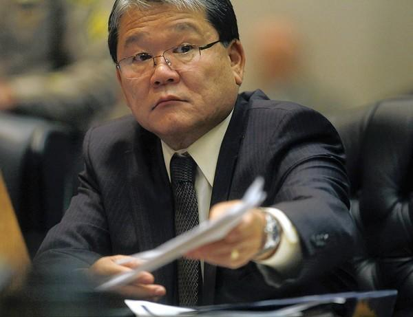The views of L.A. County Chief Executive William T Fujioka were submitted as part of the public comments being gathered for the environmental review of the latest plans to improve the nation's third largest airport.