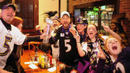 Baltimore Ravens fans celebrate Super Bowl in Bel Air [Pictures]