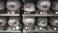 Ravens Super Bowl merchandise for sale in Columbia [Pictures]